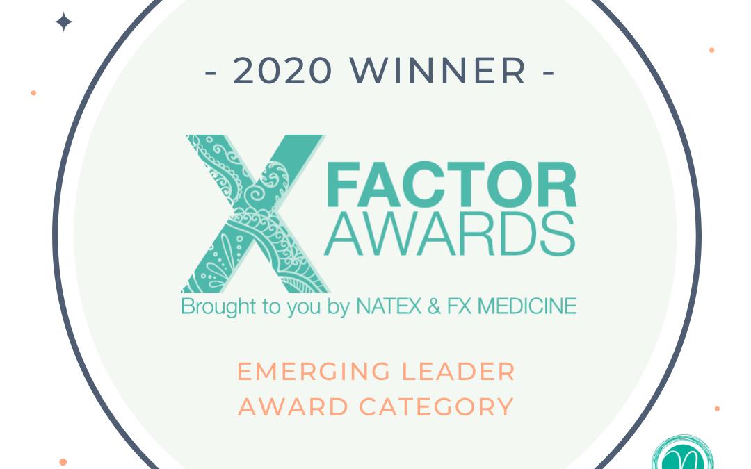 Naturopathic Industry Awards 2020 – Emerging Leader Award